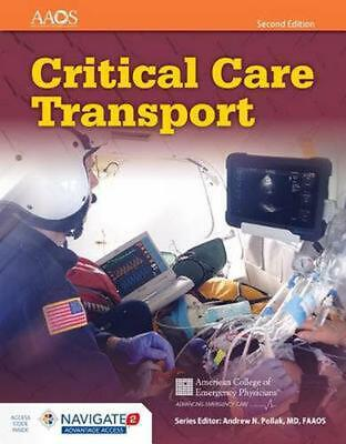 Critical Care Transport by American Academy Of Orthopaedic Surgeons Hardcover Bo