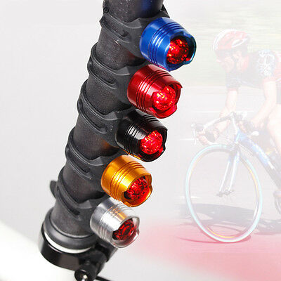 Bike Red LED Bicycle Rear Light 3 modes Tail Lamp Waterproof Warning Safety