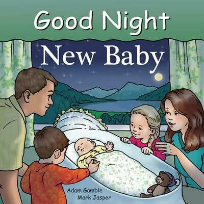 Good Night New Baby by Adam Gamble (English) Board Books Book Free Shipping!