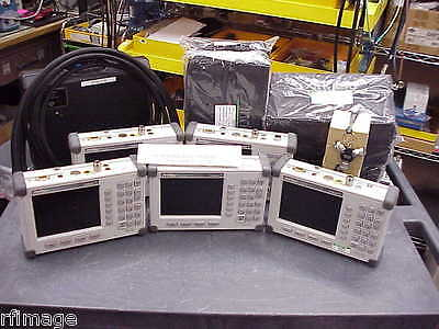 Anritsu / S331D / Site Master Cable, Antenna Analyzer, w/Acc, Fresh Cal, 5 set