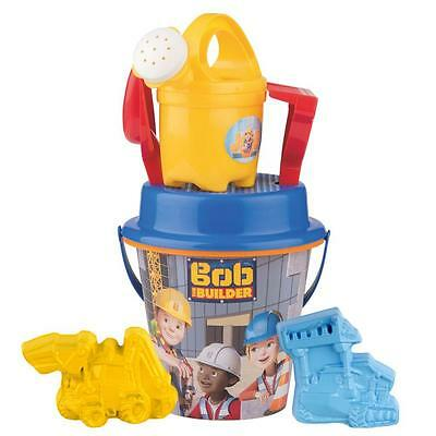 Bob the Builder - Bucket Set - Sand Toys - (7 pieces)