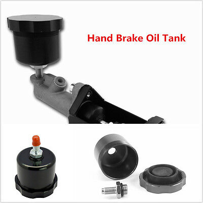 Black Hydraulic Drift Handbrake Oil Tank For Hand Brake Fluid Reservoir E-brake