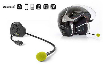 Twiins D1VA Motorcycle / Scooter Hands Free Bluetooth Communication System
