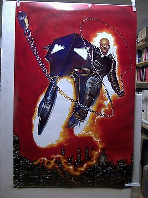 Mark Texeira: Ghost Rider Poster (USA)