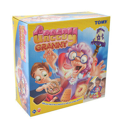 T72465 TOMY Greedy Granny! Family Game 2-4 Players Children Kids Age 5 Years+
