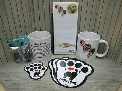 Chow Chow - Mugs, Key Chains, Magnets, Signs, Notepad