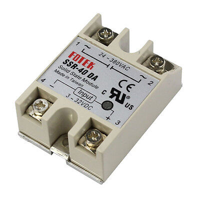 Highly Reliable Fast Switching Solid State Relay Controller SSR-40DA/24-380VAC