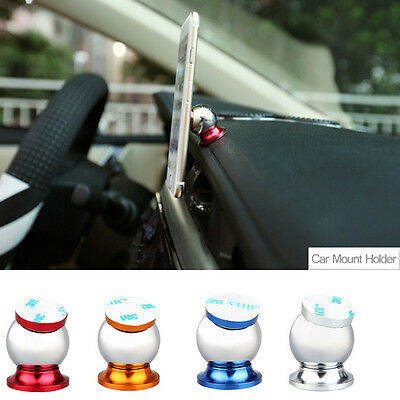 Universal 360° Magnetic Ball Car Mount Holder GPS For iPhone For Samsung Phone