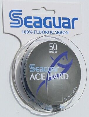 Seaguar NEW Fluorocarbon 50m Various Sizes