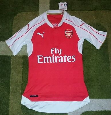 BNWT Arsenal 2015-16 ACTV Player Issue Home Jersey Shirt - Size L Large Puma