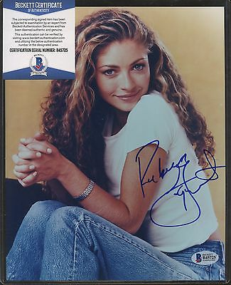 Rebecca Gayheart Signed 8x10 Photo Beckett BAS COA AUTO Autograph