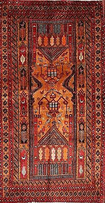 """Excellent Geometric Tribal 3x6 Balouch Persian Oriental Area Rug 6' 4"""" x 3' 4"""""""