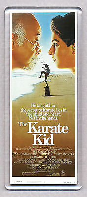 THE KARATE KID movie poster LARGE 'wide' FRIDGE MAGNET - 80's CLASSIC!