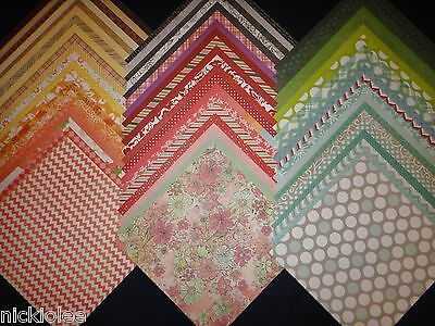 12X12 Scrapbook Paper DCWV Stack 9 All Occasion Wholesale Lot Supplies 60 Kit