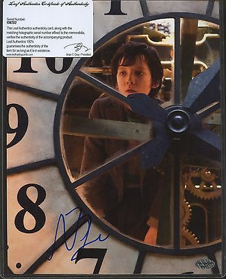 Asa Butterfield Signed 8x10 Photo Leaf COA AUTO Autograph