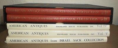 5 Volume Set American Antiques From Israel Sack Collection Furniture Art History