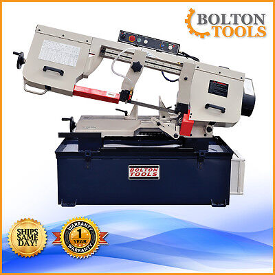 "10"" x 18"" Inch Bandsaw Horizontal Metal Cutting Band Saw BS-1018B Free Shipping!"