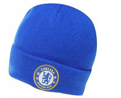 Chelsea Football Club Beanie Hat_ Adult _ OSFA -New with Official tags