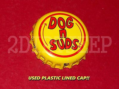 Dog N Suds Drive-In Style Root Beer Soda Pop Dog Vintage Old Used P/l Bottle Cap