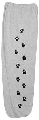Paw Printed sweat pants