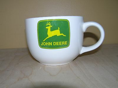John Deere Large 28oz Coffee Soup Chili Bowl Mug Tractor Design By Gibson