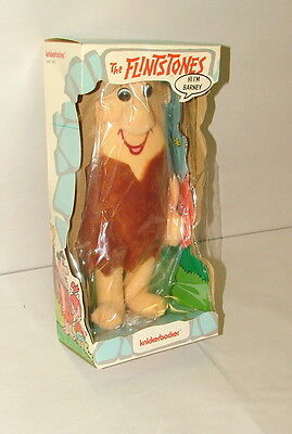 % 1974 Knickerbocker The Flintstones Barney Figure Mint In Original Box