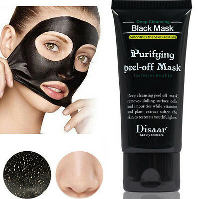 Facial Cleansing Blackhead Remover Charcoal Mask Purifying Black Peel-off Mask