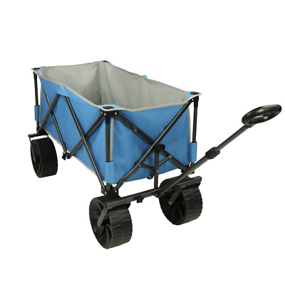 Fridani BTB 100 - foldable hand cart, Beach Cart, extra wide tires, max 100kg