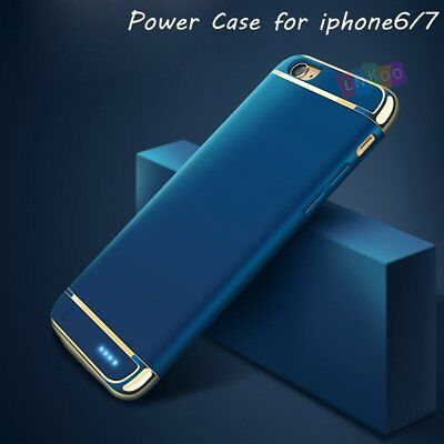 Battery External Power bank Charger Case Charging Cover For iPhone 7 6 6s Plus