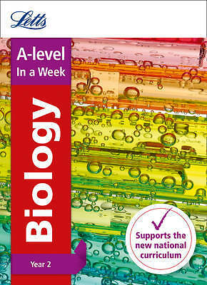 A-Level Biology Year 2 in a Week, Collins UK