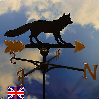 High Quality British Made Fox Weathervanes.(3)