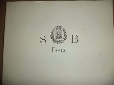 Catalog French Bronze Foundry S-B Paris GARDEN ART ARCHITECTURE SCUPTURES REPRO