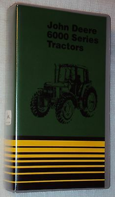 JOHN DEERE 6000 SERIES TRACTOR VHS Video Tape Out of Print OOP Collectible NTSC
