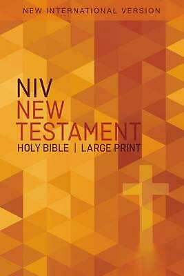 NIV, Outreach New Testament, Large Print, Paperback by Zondervan (English) Paper