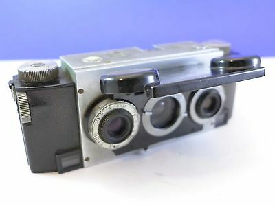Stereo Realist f3.5 camera early with Ilex lenses, #A6258 HM