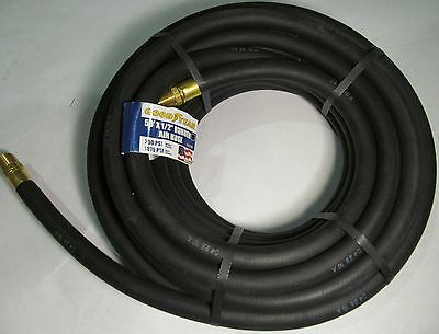 "NEW COIL GOODYEAR 250/ 1070 PSI RUBBER AIR HOSE 1/2"" x 50' MODEL 12707 USA MADE"