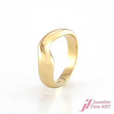 Ring in 14K/585 Gelbgold  - 3,7 g - Gr. 46
