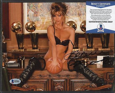 Jeanie Buss Signed 8x10 Photo Beckett BAS COA AUTO Autograph