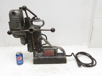 Portable Gamag 2020VS Mag Electro Magnetic Base Milwaukee Drill Press