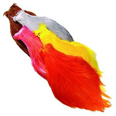 Veniard NEW Chinese Cock Cape Fly Tying Material Choose from 12 Colours