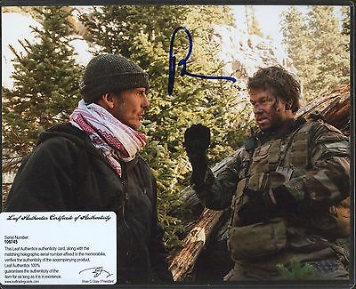 Peter Berg Signed 8x10 Photo Leaf COA AUTO Autograph