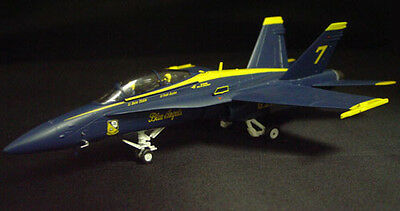 """Witty Wings F/A-18D Hornet~USN """"Blue Angels"""" #7~100 yrs. Naval  Avia.~72017-03"""
