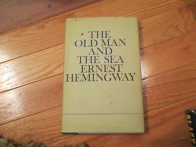 The Old man and the sea Ernest Hemingway HC Book