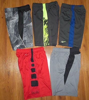 Lot 5 Boy's NIKE Dri-Fit Elite Loose Basketball Legacy Athletic Shorts Medium