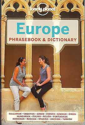 Europe LONELY PLANET PHRASE BOOK - Europe
