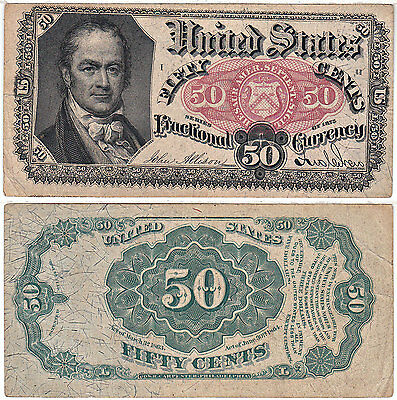 50 Cent 5th Issue Fractional Currency F-1381 Very Fine