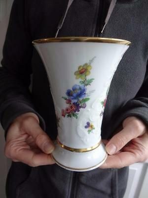 KPM Royal Porzellan Germany Trumpet Shape No 941/15 Vase 6""