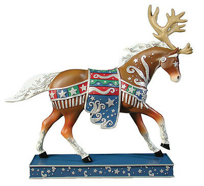 Trail of Painted Ponies REINDEER ROUNDUP FIGURINE New in Box, 1st Edition