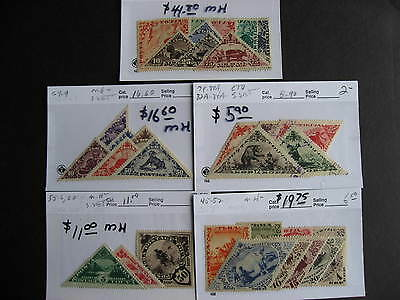 TANNU TUVA interesting stamps assembled on sales cards, worth checking out!