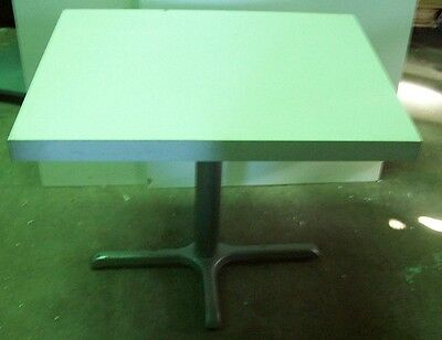 """Restaurant Equipment 32"""" x 24"""" TABLE TOP WITH BASE White Formica"""